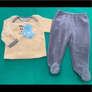 Baby Boy Plush Outfit